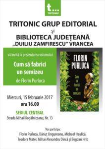 Lansare carte Florin Purluca