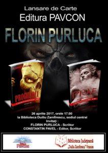 Lansare de carte Purluca Florin, 26 aprilie 2017